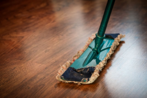 Mopping Rental Property